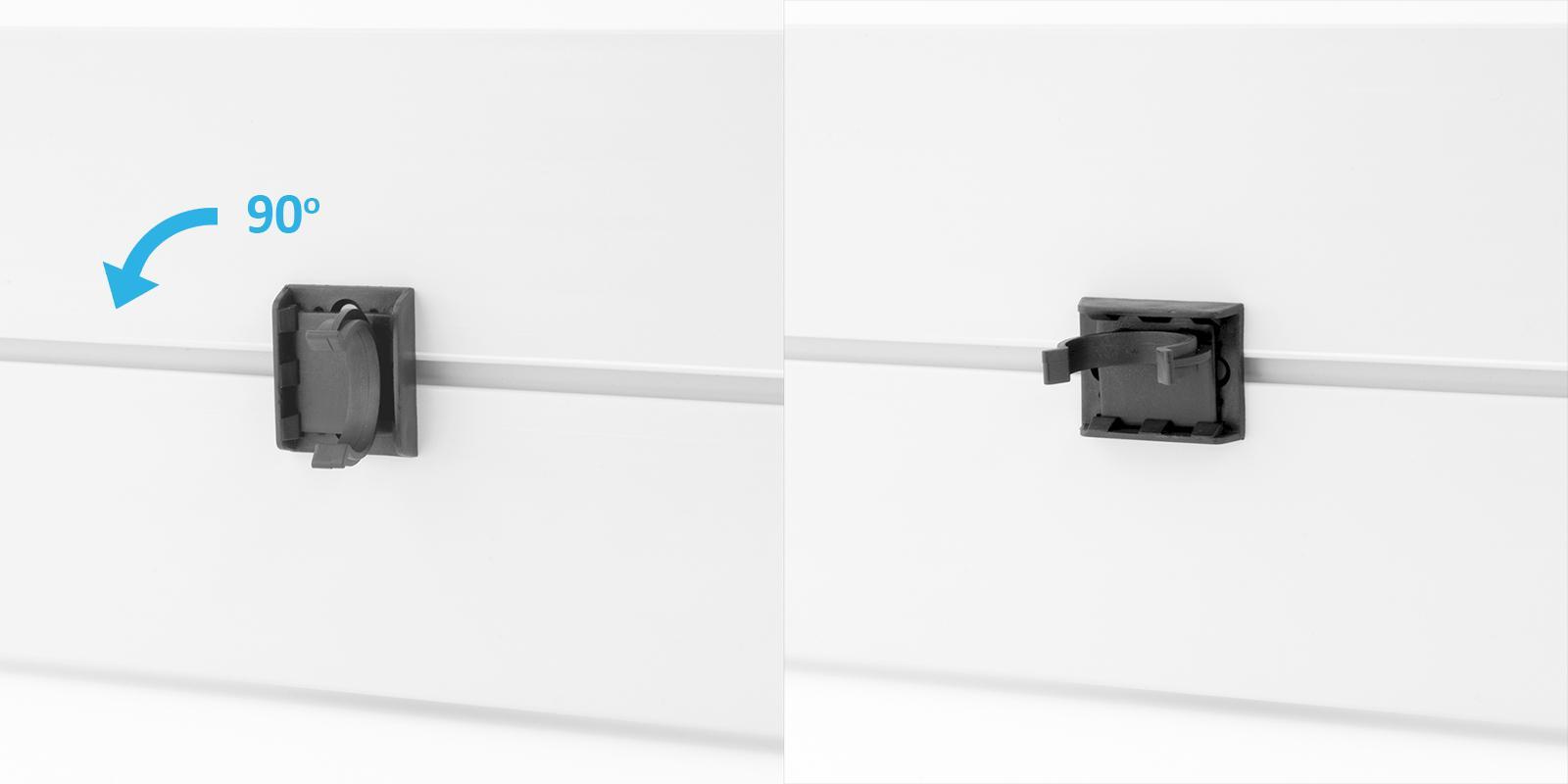 1 5m sockelleisten 100mm 150mm ver farbe k chensockel for Sockelblenden kuche