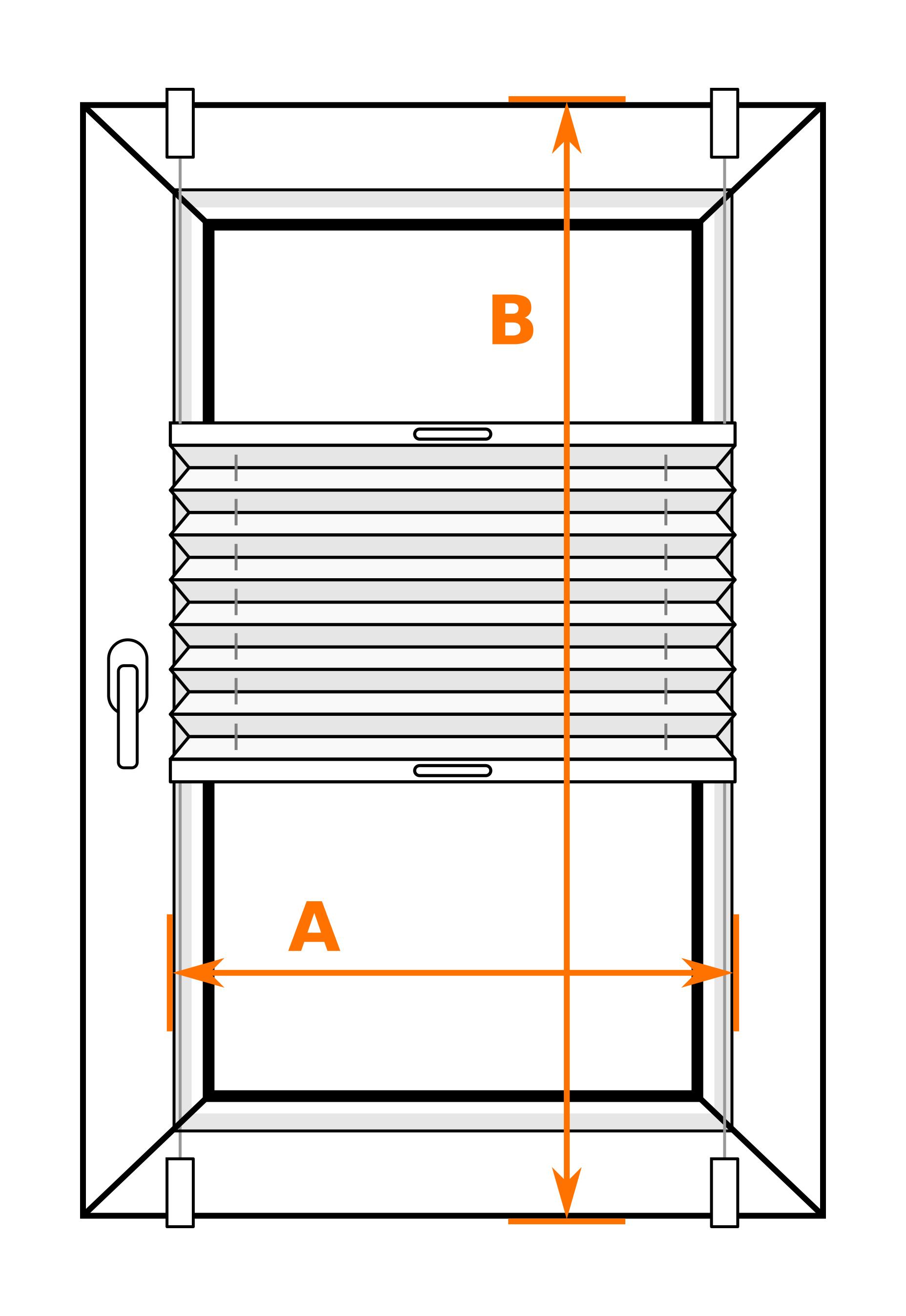 plissee beige fenster faltrollo inkl klemmtr ger ohne bohren klemmfix haus ebay. Black Bedroom Furniture Sets. Home Design Ideas