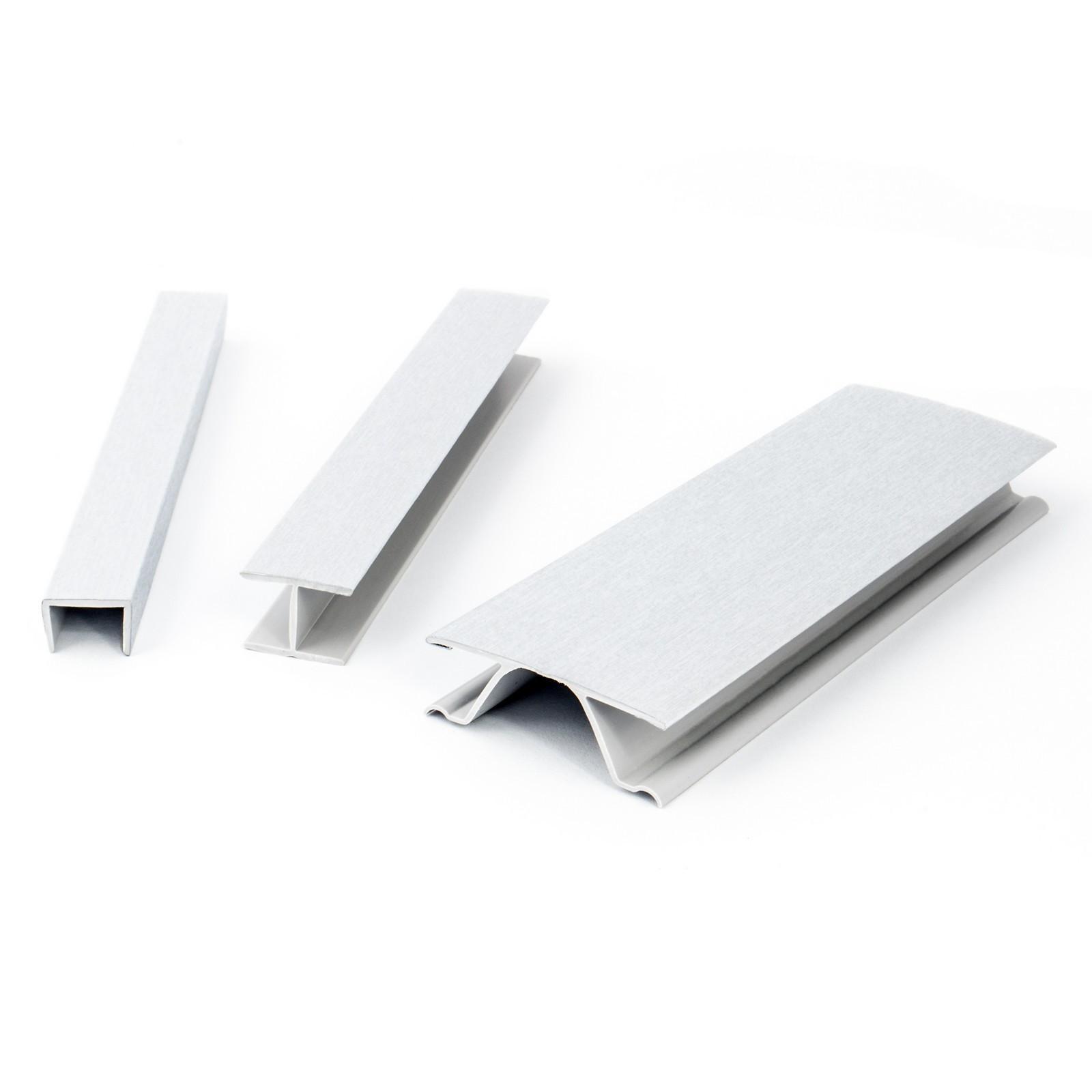 Plinthe pvc pour cuisine 100mm 150mm 1 5m noir aluminium - Plinthe pvc blanc ...