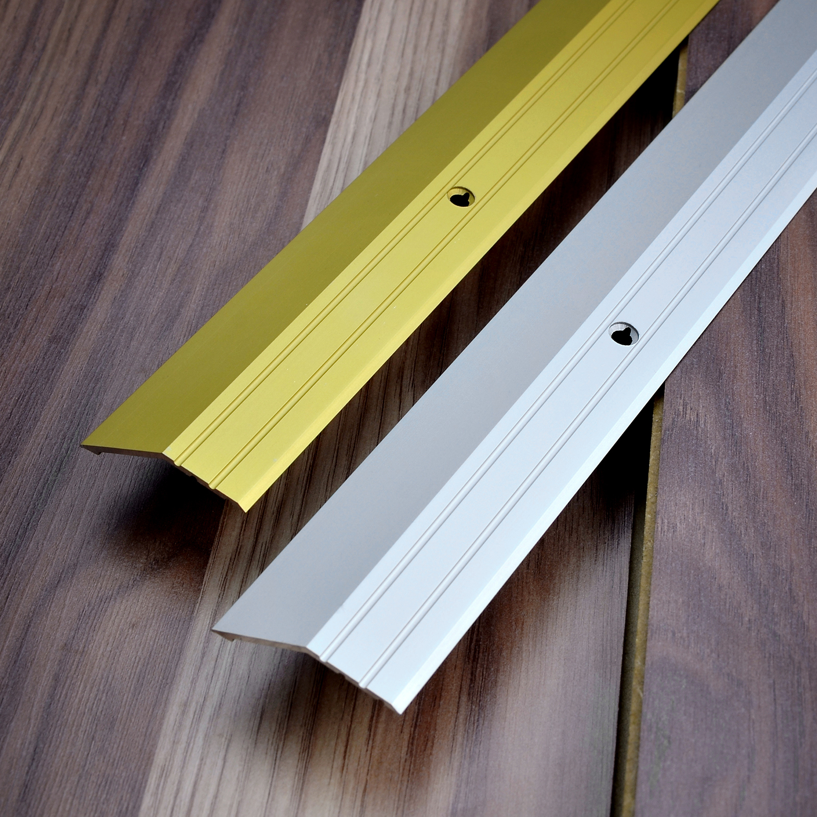 Slanted Transition Strip Aluminium Floor Edge Protection